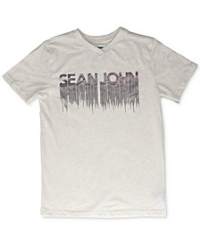 Sean John Big Boys Gold Drips Graphic T-Shirt