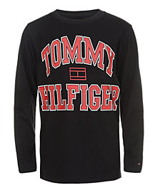 Tommy Hilfiger Big Boys Varsity Logo Shirt