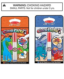 Melissa & Doug 2-Pk. ColorBlast! Sea Life & Dinosaurs Bundle - Dinosaur Toy