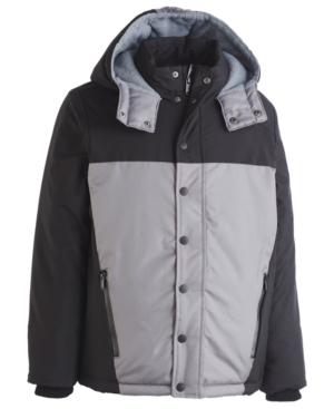 Calvin Klein Little Boys Peak Tech Colorblocked Hooded Jacket