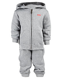 Levi's® Baby Boys 2-Pc. Hoodie & Jogger Pants Set