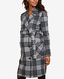Motherhood Maternity Wool Belted Peacoat