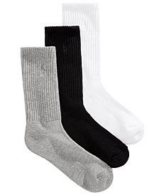Polo Ralph Lauren Women's 3-Pk. Sport Crew Socks