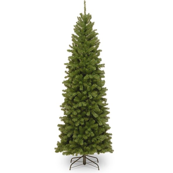 National Tree Company National Tree 6' North Valley Spruce Pencil Slim Tree