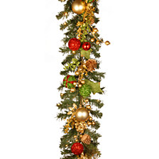 "National Tree Company 72"" Garland w/ 50 Warm White Battery LED"