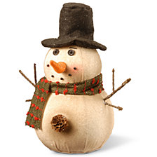 "National Tree 10"" Snowman Decoration"