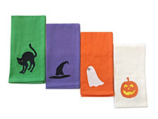 CLOSEOUT! Arlee Set of 4 Embroidered Napkins