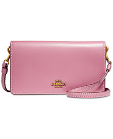 COACH Smooth Leather Slim Phone Crossbody