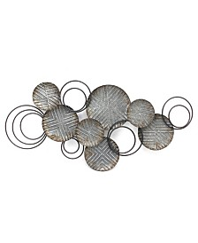Stratton Home Decor Galvanized Plates Wall Decor