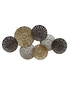 Boho Metal Plates
