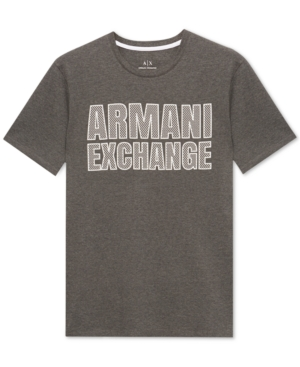 AX Armani Exchange Men's Slim-Fit Logo T-Shirt