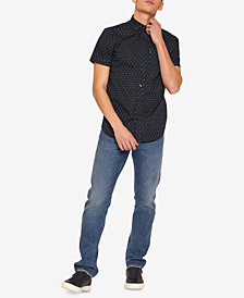 A|X Armani Exchange Men's Slim-Fit Mini-Logo Shirt