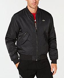 Lacoste Men's Twill Bomber Jacket