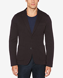 Perry Ellis Men's Slim-Fit Striped Knit Blazer