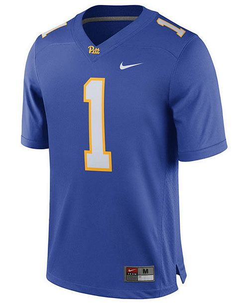 brand new e839e 1c9ed Men's Larry Fitzgerald Pittsburgh Panthers Player Game Jersey