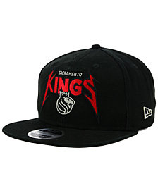 New Era Sacramento Kings 90s Throwback Groupie 9FIFTY Snapback Cap