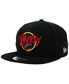 New Era Cleveland Cavaliers 90s Throwback Tour 9FIFTY Snapback Cap