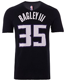 Nike Men's Marvin Bagley III Sacramento Kings Statement Player T-shirt
