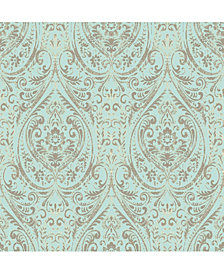 Nomad Damask Peel and Stick Wallpaper