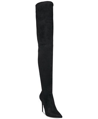 Dominique Over The Knee Stretch Boots by Steve Madden