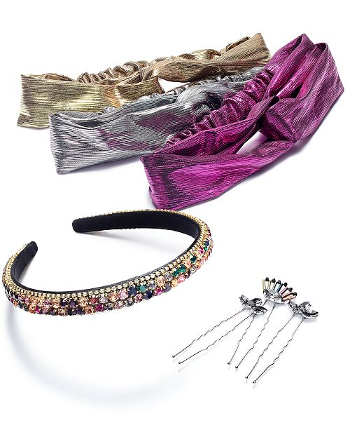 INC International Concepts I.N.C. Hair Accessories, Created for Macy's