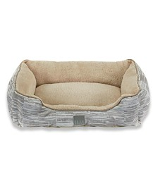Elle Decor Comfy Pooch Dog Bolster Bed Cuddler