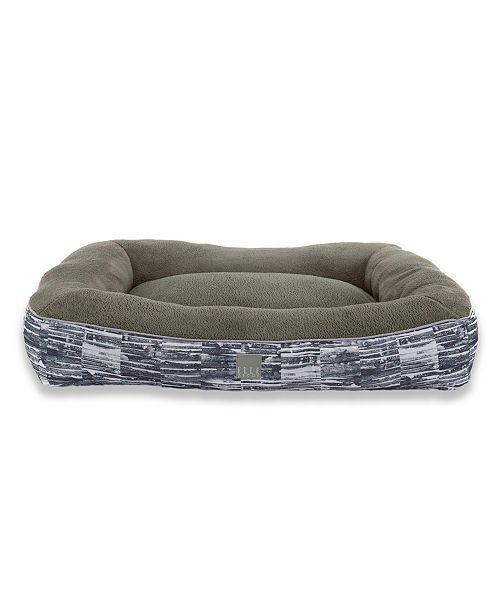 Elle Decor Comfy Pooch Dog Bolster Bed Pillow Bottom