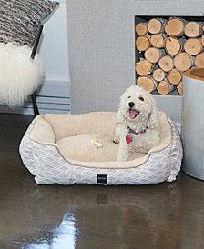 Nicole Miller Comfy Pooch Dog Bolster Bed Cuddler