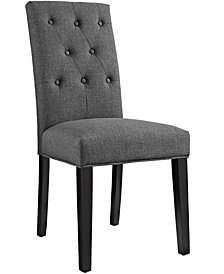 Modway Confer Dining Fabric Side Chair