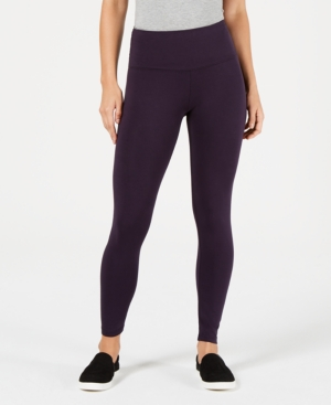 Style & Co Tummy-Control Yoga Leggings, Created for Macy's