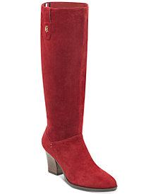 Tommy Hilfiger Women's Rosario Block Heel Boots
