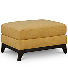 "Cistella 35"" Fabric Ottoman, Created for Macy's"