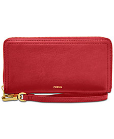 Fossil Logan Zip Around Wallet