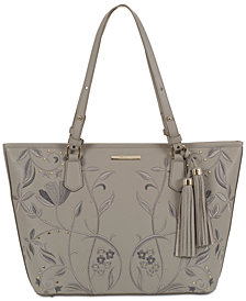 Brahmin Asher Briar Rose Leather Tote
