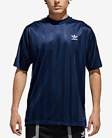 adidas Originals Men's B-Side Trefoil Mixed-Print Soccer Jersey