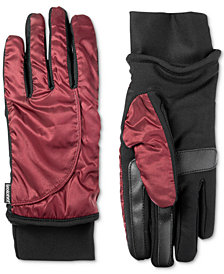 Isotoner Women's SleekHeat™ smartDRI® Modern Shape Touchscreen Gloves