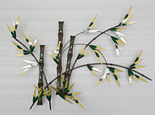 Artisan Bamboo Forest Wall Art, Quick Ship