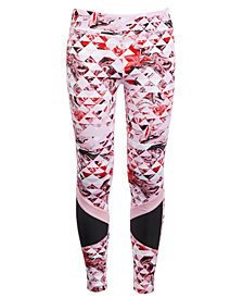 Ideology Big Girls Plus Geo-Print Leggings, Created for Macy's