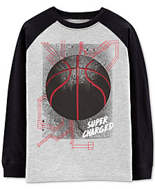 Carter's Carter's Little & Big Boys Cotton Basketball T-Shirt