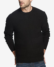 Weatherproof Vintage Men's Soft Touch Textured Sweater
