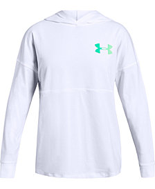 Under Armour Big Girls Colorblocked Finale Hoodie