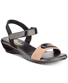 Callisto Simba Wedge Sandals