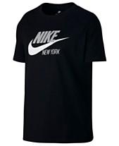 69fa9c63f8945b Nike Sportswear Cotton New York Logo T-Shirt