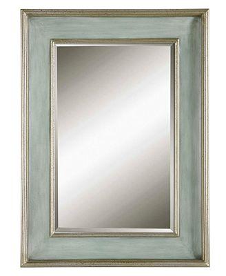 Uttermost Ogden Blue Mirror
