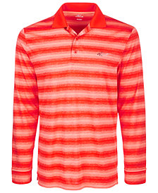 Attack Life by Greg Norman Men's Freemont Stripe Pol
