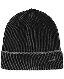 BOSS Men's Knitted Virgin Wool Beanie Hat