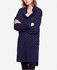 Free People Gotta Have It Striped Oversized Tunic