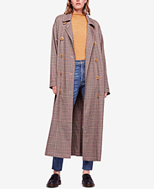 Free People Melody Menswear Trench Coat