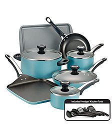 Farberware 17-Pc. Non-Stick Aluminum Cookware Set