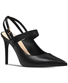 Nine West Tabbae Slingback Mary Jane Pumps